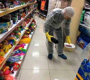 дератизация в магазине игрушек