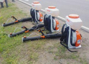 мотоопрыскиватели для распыления гербицидов