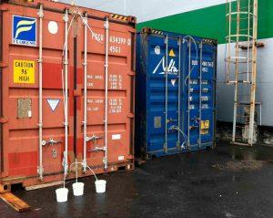 фумигация контейнеров